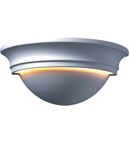 Justice Design Group Ambiance Large Cyma Wall Sconce in Bisque CER-1515-BIS photo