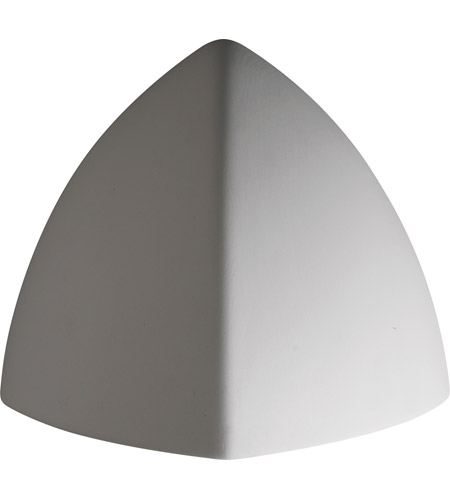 Justice Design Group Ambiance Small Ambis Outdoor Wall Sconce in Bisque CER-1800W-BIS photo