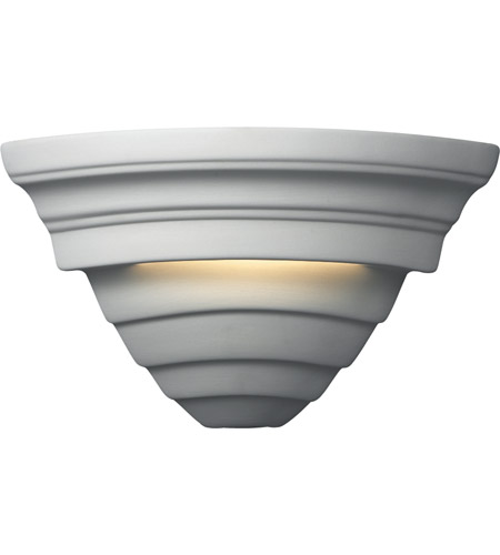 Justice Design CER-1865-STOA Ambiance Supreme 1 Light 12 inch Agate Marble Corner Wall Sconce Wall Light