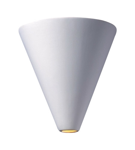 Justice Design CER-2410-BIS Ambiance 1 Light 9 inch Bisque Wall Sconce Wall Light photo