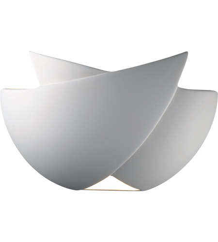 Justice Design CER-5250-BIS Ambiance 1 Light 11 inch Bisque ADA Wall Sconce Wall Light photo