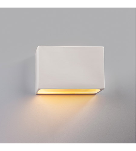 Justice Design CER-5640W-CBGD-LED1-1000 Ambiance LED 10 inch Matte Black ADA Wall Sconce Wall Light photo