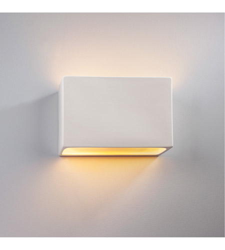 Justice Design CER-5645-HMBR-LED1-1000 Ambiance LED 10 inch Polished Chrome ADA Wall Sconce Wall Light photo