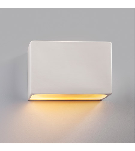 Justice Design CER-5650-HMCP-LED2-2000 Ambiance LED 12 inch Brushed Nickel ADA Wall Sconce Wall Light photo