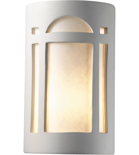 Justice Design Group Ambiance Large Arch Window Wall Sconce in Bisque CER-7395-BIS photo