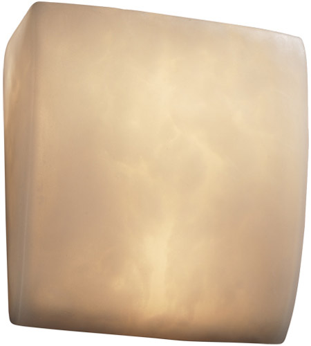Justice Design Clouds Ada Square Wall Sconce CLD-5120 photo