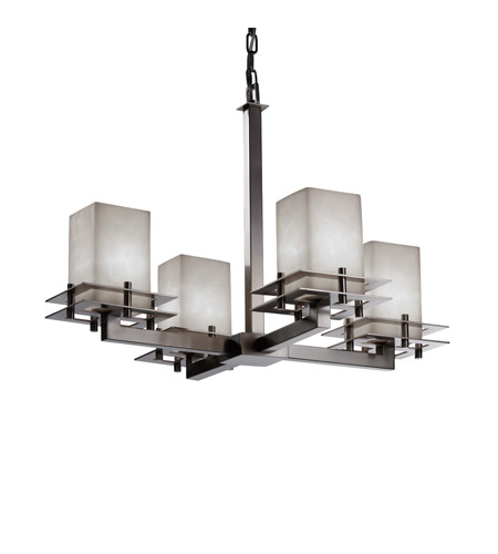 Justice Design CLD-8100-15-NCKL Metropolis 4 Light 25 inch Brushed Nickel  sc 1 st  Justice Design Lighting Lights : brushed nickel chandelier lighting - azcodes.com