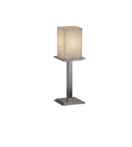 Justice Design Clouds Montana 1-Light Table Lamp (Tall) in Brushed Nickel CLD-8699-15-NCKL photo