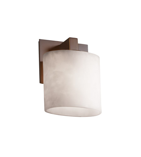 Justice Design Clouds Modular 1-Light Wall Sconce (Ada) in Dark Bronze CLD-8931-30-DBRZ photo