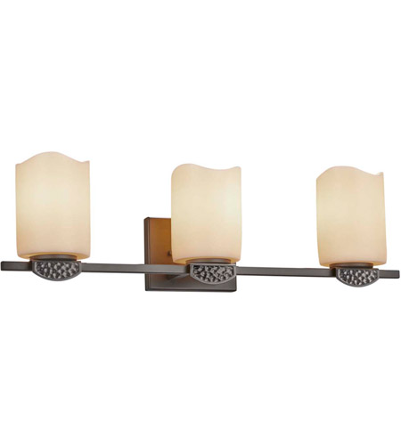 Justice Design CNDL-8493-14-CREM-DBRZ-LED3-2100 CandleAria Malleo LED 24 inch Dark Bronze Bath Bar Wall Light photo thumbnail