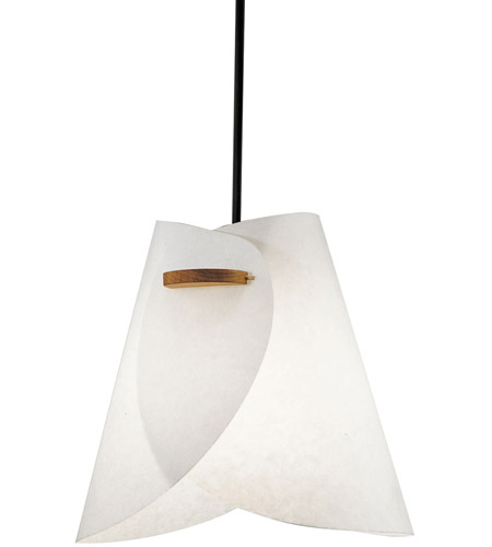 Justice Design Domus Iris Beech Wood Pendant DOM-8548 photo