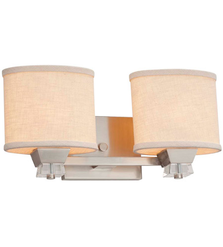 Metal Textile Bathroom Vanity Lights