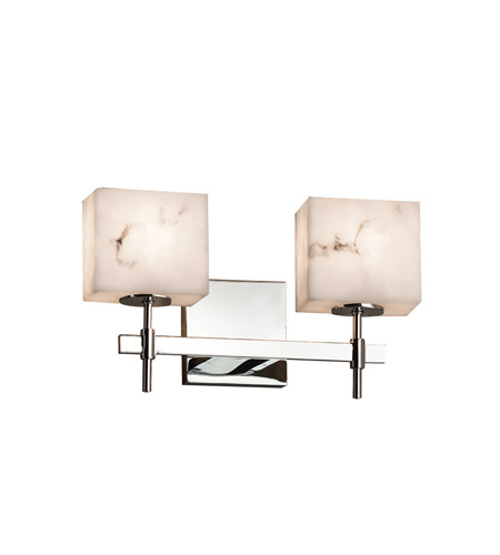 Lumenaria Led 15 Inch Polished Chrome Vanity Light Wall In 1400 Lm Rectangle