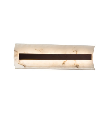 Dark Bronze Vanity Lights : Justice Design FAL-8621-DBRZ LumenAria LED 21 inch Dark Bronze Vanity Light Wall Light