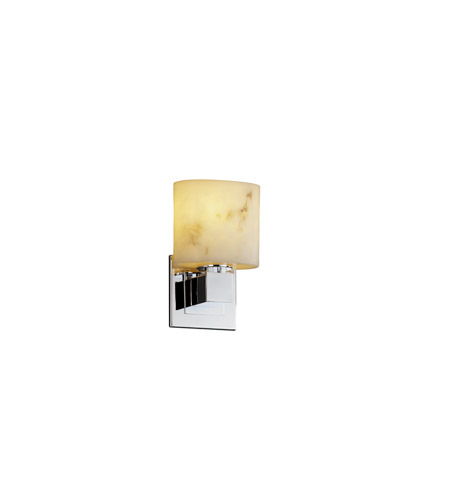 Justice Design LumenAria Aero Ada 1-Light Wall Sconce (No Arms) in Polished Chrome FAL-8707-30-CROM photo