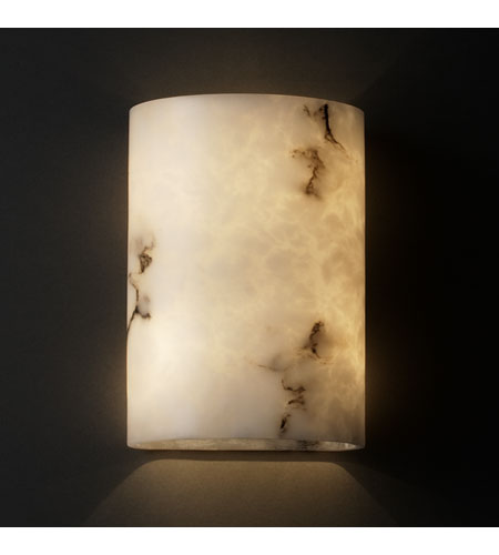 Justice Design LumenAria Ada Small Cylinder Wall Sconce FAL-8857 photo
