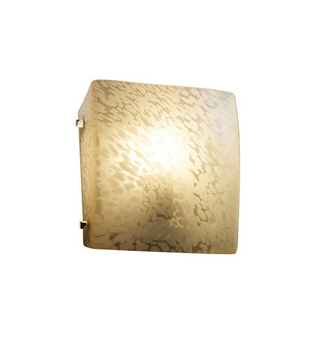Justice Design Signature 1 Light Wall Sconce in Polished Chrome FSN-5120-DROP-CROM-LED-1000