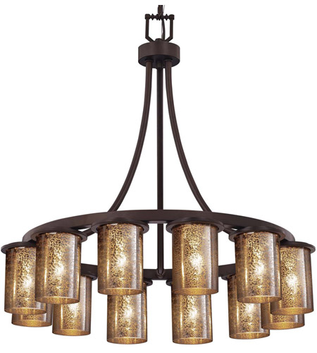 Dark Bronze Fusion Chandeliers