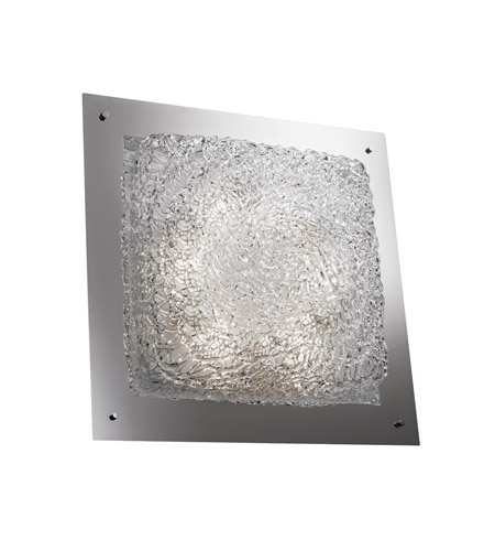 Justice Design Signature Wall Sconce in Polished Chrome GLA-5568-LACE-CROM-LED-5000
