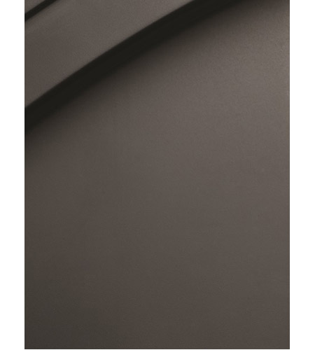 Justice Design FSN-8706-55-FRCR-MBLK Fusion 6 Light 56 inch Matte Black Bath Bar Wall Light in Rectangle, Incandescent, Frosted Crackle MBLK.jpg