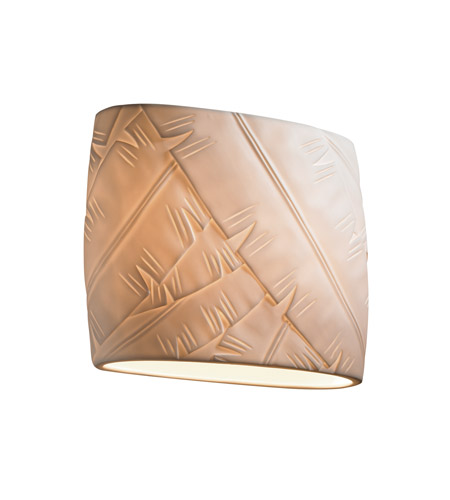 Justice Design PNA-8855-BANL Signature 2 Light 12 inch ADA Wall Sconce Wall Light