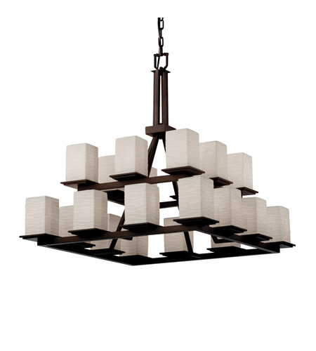 Justice Design Limoges Montana 20 Light 2 Tier Ring