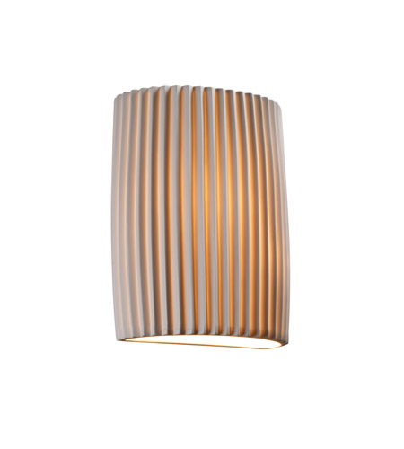 Justice Design POR-8857-PLET Limoges 1 Light 7 inch ADA Wall Sconce Wall Light in Pleats photo