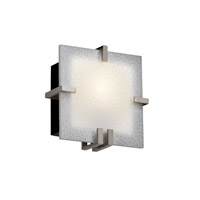 Justice Design 3form LED Wall Sconce in Brushed Nickel 3FRM-5550-FIZZ-NCKL-LED-1000