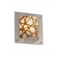 Justice Design 3form LED Wall Sconce in Brushed Nickel 3FRM-5561-CONN-NCKL-LED-1000