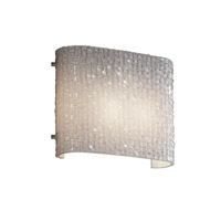 Justice Design 3FRM-8855-TILE-NCKL 3form 2 Light 12 inch Brushed Nickel ADA Wall Sconce Wall Light in Small Tile