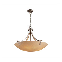 Justice Design 3form LED Pendant in Brushed Nickel 3FRM-9752-35-TAKE-NCKL-F2-LED-5000