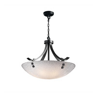Justice Design 3form LED Pendant in Matte Black 3FRM-9752-35-TILE-MBLK-F2-LED-5000