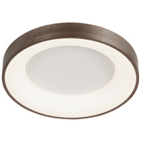 Justice Design ACR-4051-OPAL-LTBZ Acryluxe LED 19 inch Light Bronze Flush-Mount Ceiling Light Sway Family