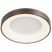 Acryluxe LED 24 inch Light Bronze Flush-Mount Ceiling Light, Sway Family