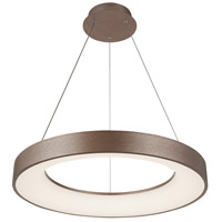 Justice Design ACR-4061-OPAL-LTBZ EVOLV LED 19 inch Light Bronze Pendant Ceiling Light Sway Family