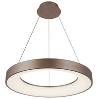 Justice Design ACR-4062-OPAL-LTBZ EVOLV LED 24 inch Light Bronze Pendant Ceiling Light Sway Family