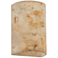 Justice Design ALR-1265 Alabaster Rocks 2 Light 8 inch Shaved Alabaster Rocks Wall Sconce Wall Light