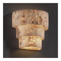 Alabaster Rocks 1 Light 10 inch Outdoor Wall Sconce