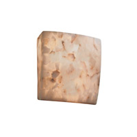 Justice Design Alabaster Rocks Ada Square Wall Sconce ALR-5120