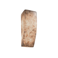 Justice Design Alabaster Rocks Ada Rectangle Wall Sconce ALR-5135