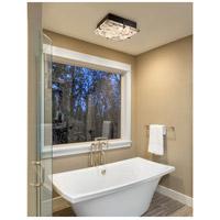 Justice Design ALR-5555-DBRZ-LED2-2000 Alabaster Rocks LED 13 inch Dark Bronze Flush Mount Ceiling Light in 2000 Lm LED