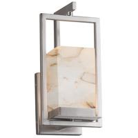 Justice Design ALR-7511W-NCKL Alabaster Rocks LED 6 inch Brushed Nickel Wall Sconce Wall Light