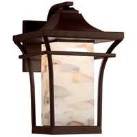 Justice Design ALR-7524W-DBRZ Alabaster Rocks Summit 1 Light 11 inch Dark Bronze Wall Sconce Wall Light
