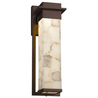 Alabaster Rocks 17 inch Outdoor Wall Sconce