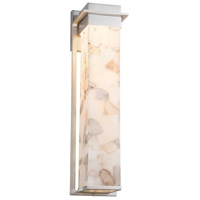 Alabaster Rocks LED 6 inch Brushed Nickel Wall Sconce Wall Light