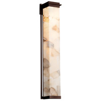 Justice Design ALR-7547W-DBRZ Alabaster Rocks Pacific LED 8 inch Dark Bronze Wall Sconce Wall Light