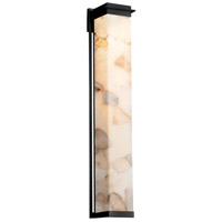 Alabaster Rocks Pacific LED 8 inch Matte Black Wall Sconce Wall Light