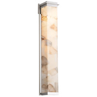 Justice Design ALR-7547W-NCKL Alabaster Rocks Pacific LED 8 inch Brushed Nickel Wall Sconce Wall Light