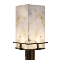 Alabaster Rocks Avalon LED 18 inch Dark Bronze Outdoor Post Light