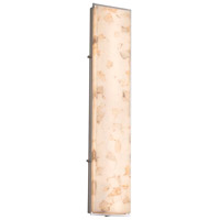 Alabaster Rocks LED 10 inch Brushed Nickel ADA Wall Sconce Wall Light